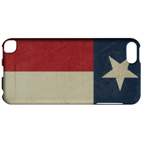 Grunge Texas - Geeks Designer Line Flag Series Hard Case for Apple iPod Touch 5