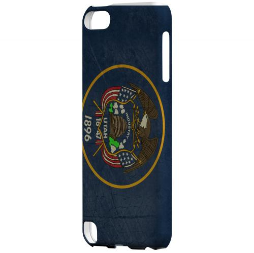 Grunge Utah - Geeks Designer Line Flag Series Hard Case for Apple iPod Touch 5