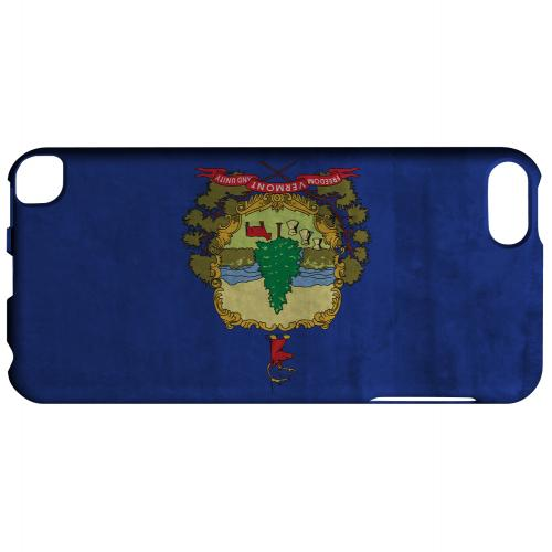 Grunge Vermont - Geeks Designer Line Flag Series Hard Case for Apple iPod Touch 5