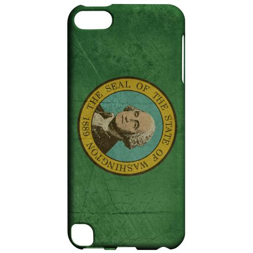 Grunge Washington - Geeks Designer Line Flag Series Hard Case for Apple iPod Touch 5