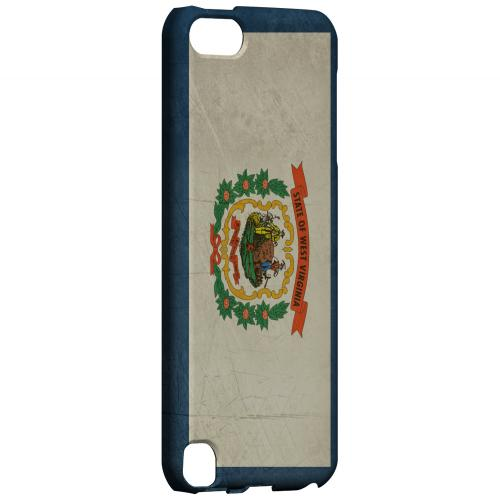 Grunge West Virginia - Geeks Designer Line Flag Series Hard Case for Apple iPod Touch 5