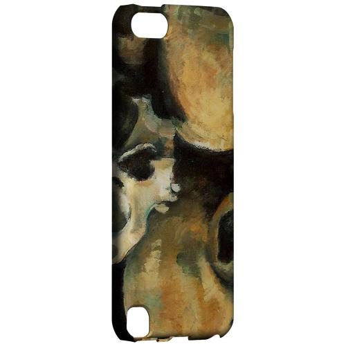 Geeks Designer Line (GDL) Slim Hard Case for Apple iPod Touch 5 - Paul Cezanne Pyramid of Skulls