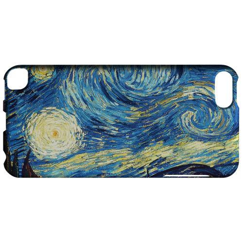 Geeks Designer Line (GDL) Slim Hard Case for Apple iPod Touch 5 - Vincent Van Gogh Starry Night