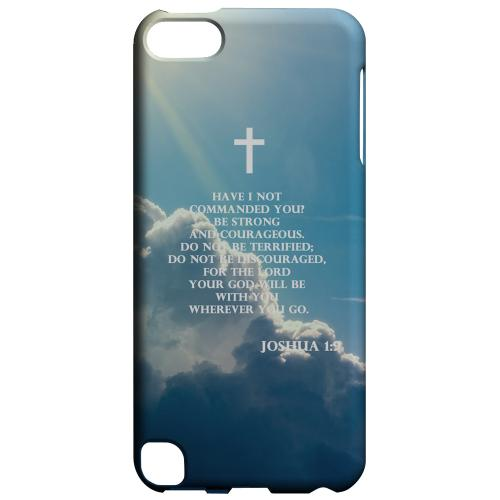 Geeks Designer Line (GDL) Slim Hard Case for Apple iPod Touch 5 - Joshua 1:9