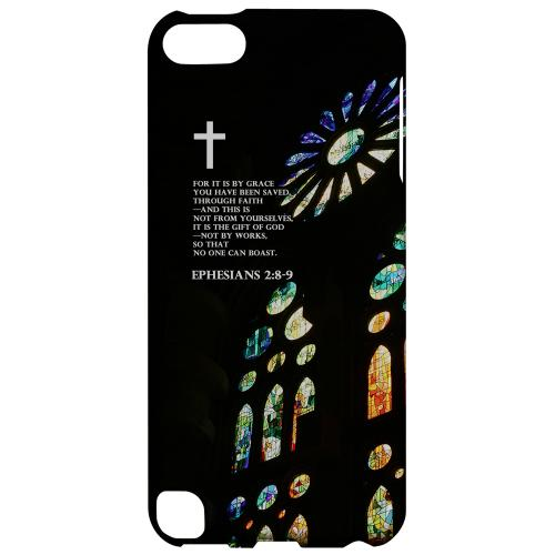 Geeks Designer Line (GDL) Slim Hard Case for Apple iPod Touch 5 - Ephesian 2:8-9