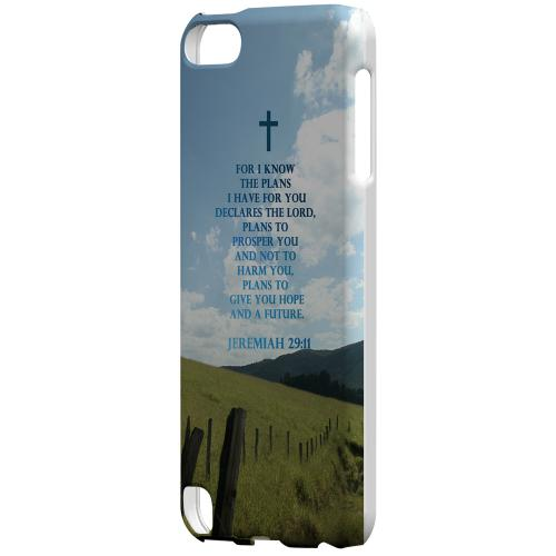 Geeks Designer Line (GDL) Slim Hard Case for Apple iPod Touch 5 - Jeremiah 29:11