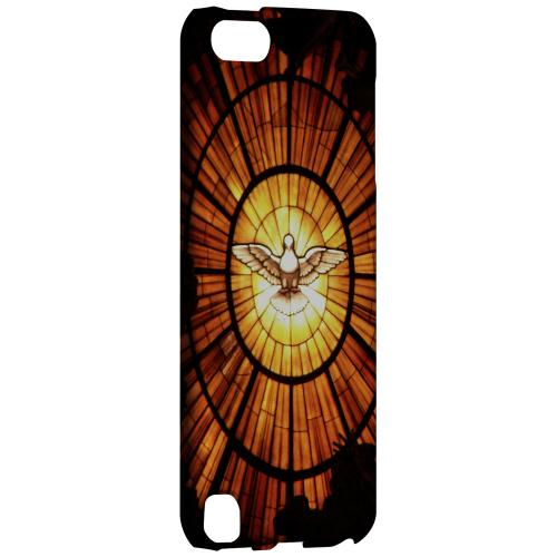 Geeks Designer Line (GDL) Slim Hard Case for Apple iPod Touch 5 - Holy Spirit Glass