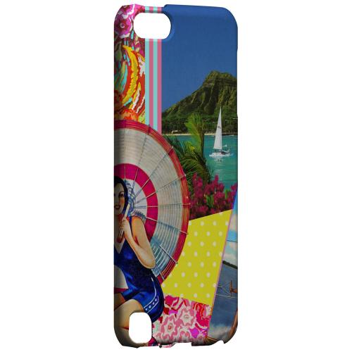 Geeks Designer Line (GDL) Slim Hard Case for Apple iPod Touch 5 - Paradise