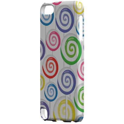 Geeks Designer Line (GDL) Slim Hard Case for Apple iPod Touch 5 - Assorted Lollipops