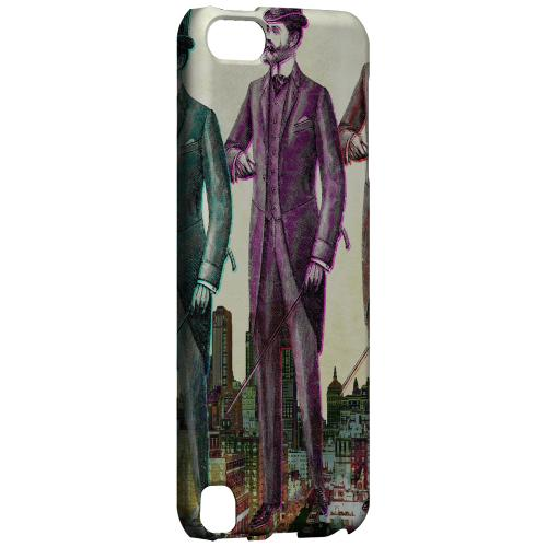 Geeks Designer Line (GDL) Slim Hard Case for Apple iPod Touch 5 - New York Like A Sir
