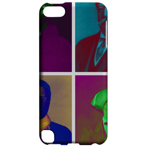 Geeks Designer Line (GDL) Slim Hard Case for Apple iPod Touch 5 - Hip Before It Was Cool