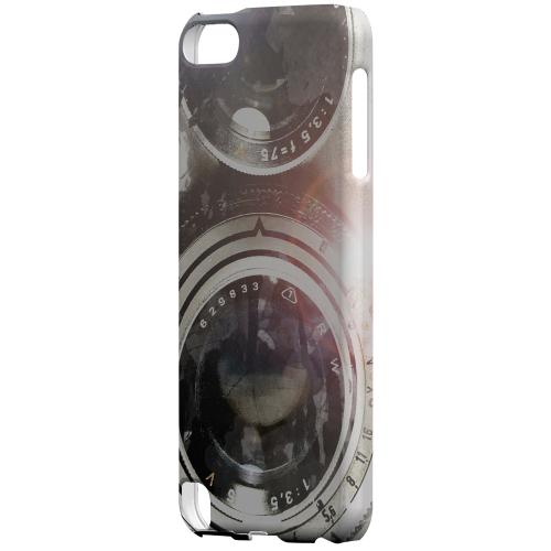 Geeks Designer Line (GDL) Slim Hard Case for Apple iPod Touch 5 - White Lens Flare