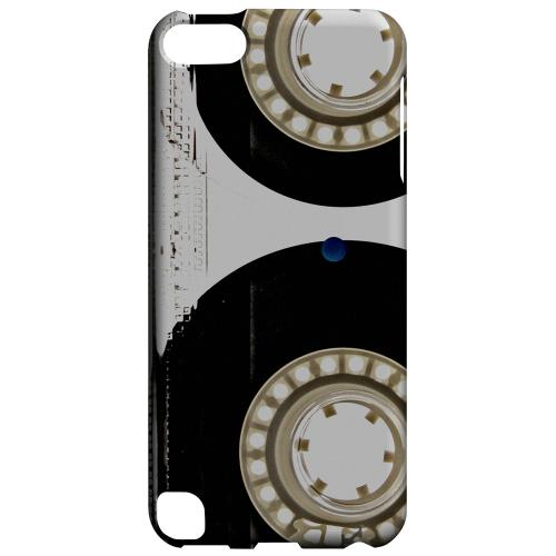 Geeks Designer Line (GDL) Slim Hard Case for Apple iPod Touch 5 - Clear Cassette