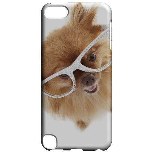 Geeks Designer Line (GDL) Slim Hard Case for Apple iPod Touch 5 - Pomeranian