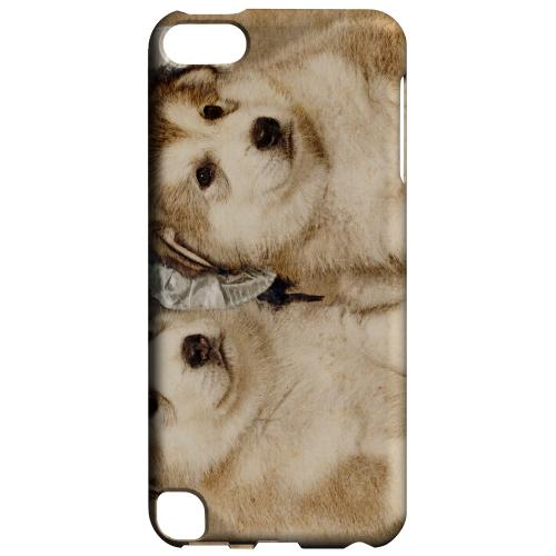 Geeks Designer Line (GDL) Slim Hard Case for Apple iPod Touch 5 - Alaskan Malamute