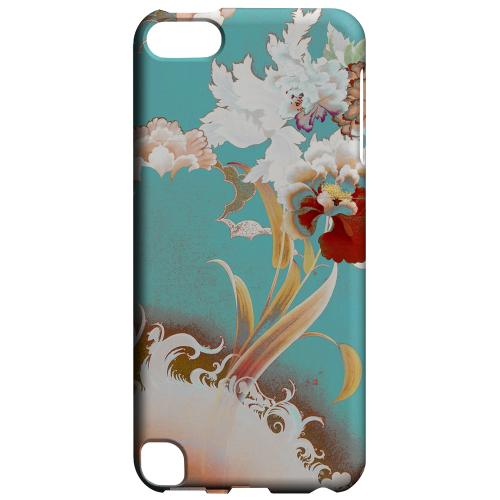 Geeks Designer Line (GDL) Slim Hard Case for Apple iPod Touch 5 - Flower Wave