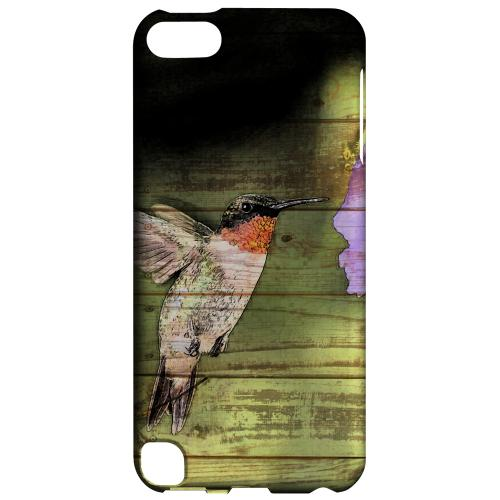 Geeks Designer Line (GDL) Slim Hard Case for Apple iPod Touch 5 - Hummingbird