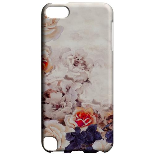 Geeks Designer Line (GDL) Slim Hard Case for Apple iPod Touch 5 - Vintage Roses