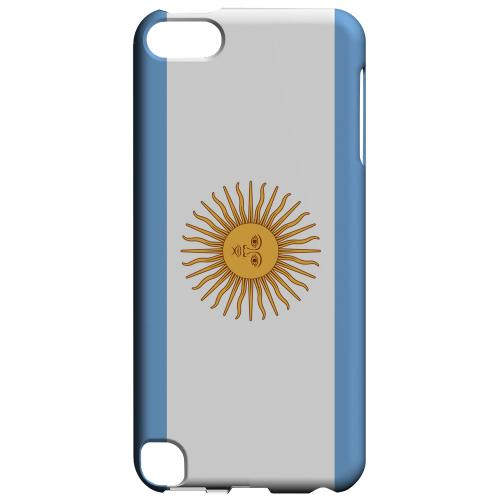 Geeks Designer Line (GDL) Slim Hard Case for Apple iPod Touch 5 - Argentina