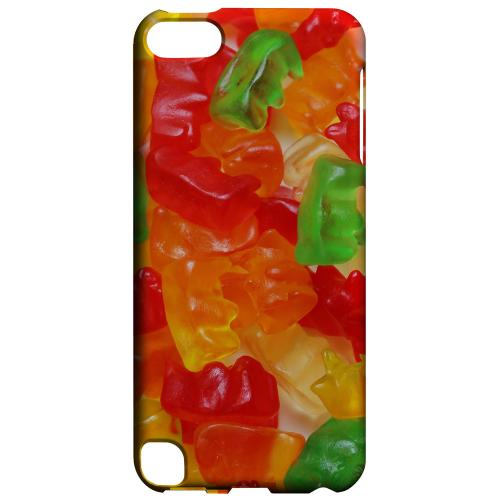 Geeks Designer Line (GDL) Slim Hard Case for Apple iPod Touch 5 - Multi-Colored Gummy Bears