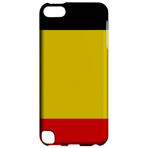 Geeks Designer Line (GDL) Slim Hard Case for Apple iPod Touch 5 - Belgium