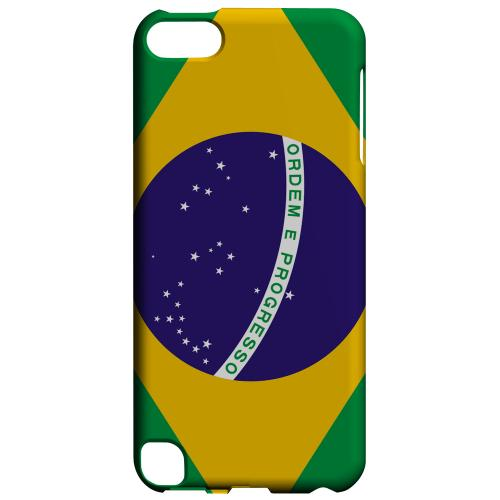 Geeks Designer Line (GDL) Slim Hard Case for Apple iPod Touch 5 - Brazil