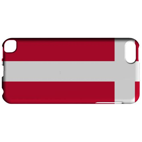 Geeks Designer Line (GDL) Slim Hard Case for Apple iPod Touch 5 - Denmark