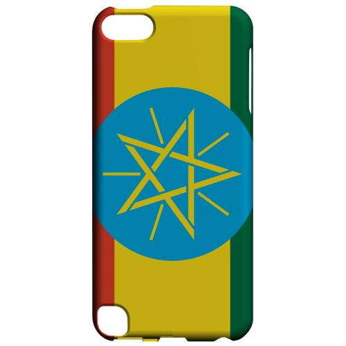 Geeks Designer Line (GDL) Slim Hard Case for Apple iPod Touch 5 - Ethiopia