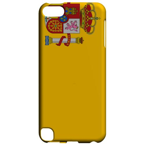 Geeks Designer Line (GDL) Slim Hard Case for Apple iPod Touch 5 - Spain