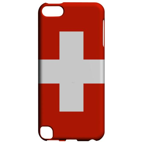 Geeks Designer Line (GDL) Slim Hard Case for Apple iPod Touch 5 - Switzerland
