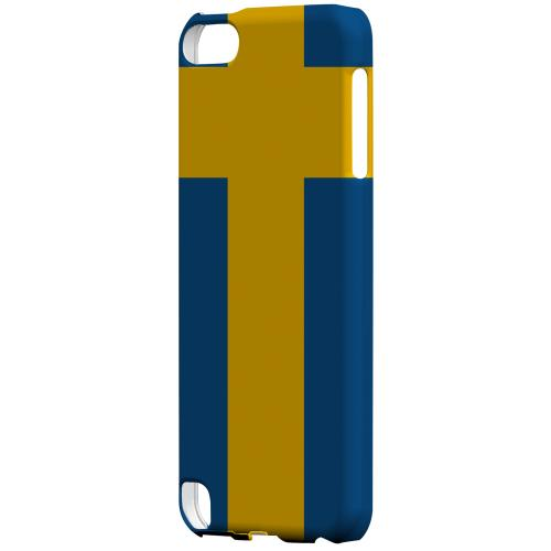 Geeks Designer Line (GDL) Slim Hard Case for Apple iPod Touch 5 - Sweden