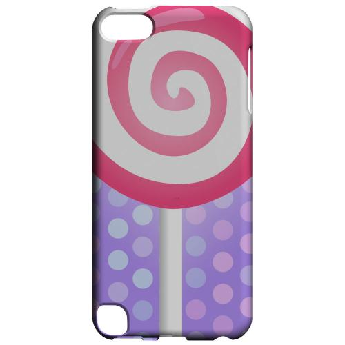 Geeks Designer Line (GDL) Slim Hard Case for Apple iPod Touch 5 - Pink Lollipop
