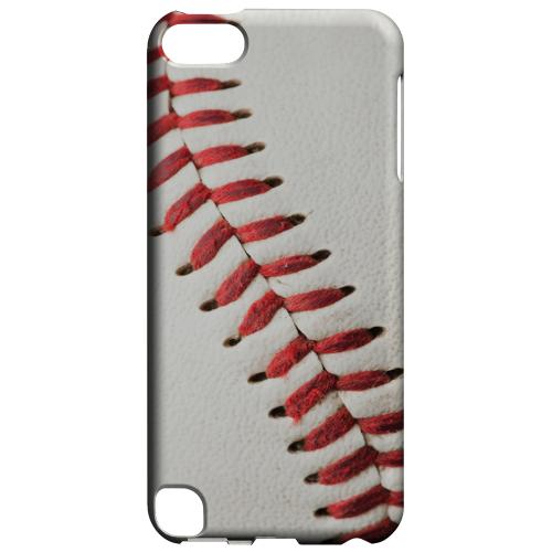Geeks Designer Line (GDL) Slim Hard Case for Apple iPod Touch 5 - Baseball