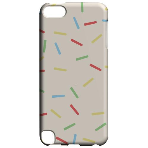 Geeks Designer Line (GDL) Slim Hard Case for Apple iPod Touch 5 - Toaster Pastry w/Sprinkles