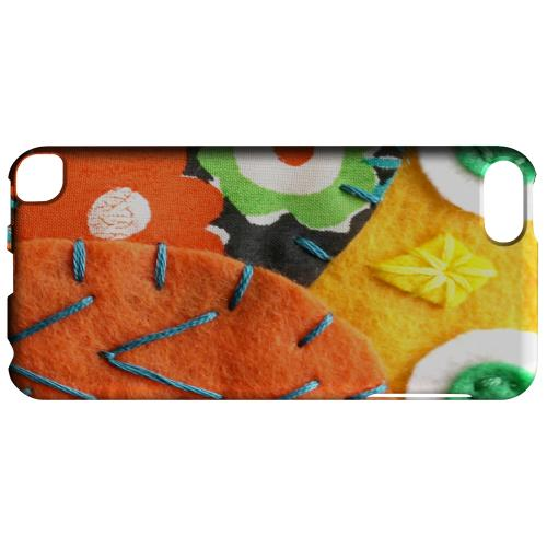 Geeks Designer Line (GDL) Slim Hard Case for Apple iPod Touch 5 - Yellow/ Orange Owl