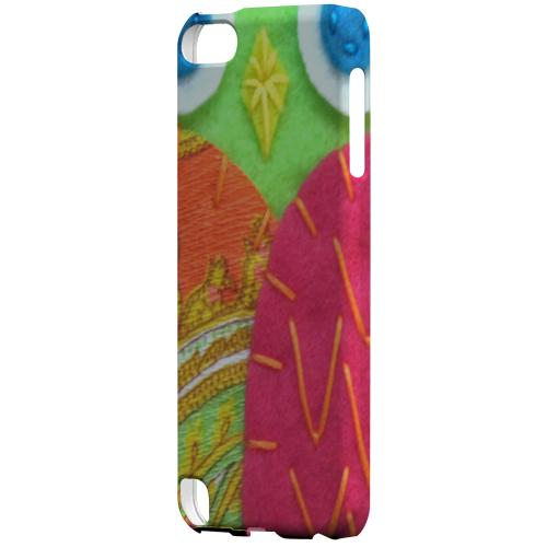 Geeks Designer Line (GDL) Slim Hard Case for Apple iPod Touch 5 - Neon Green/ Pink