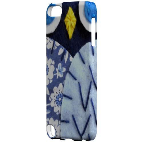 Geeks Designer Line (GDL) Slim Hard Case for Apple iPod Touch 5 - Night Blue Owl
