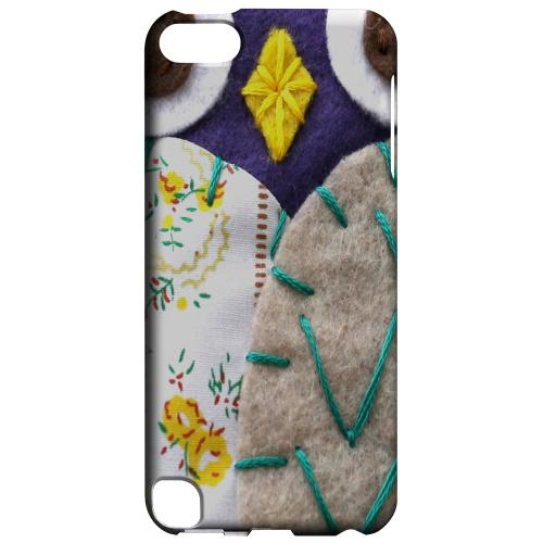Geeks Designer Line (GDL) Slim Hard Case for Apple iPod Touch 5 - Blue/ Gray Owl