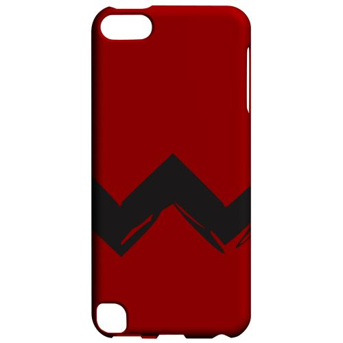 Geeks Designer Line (GDL) Slim Hard Case for Apple iPod Touch 5 - Red Good Grief!