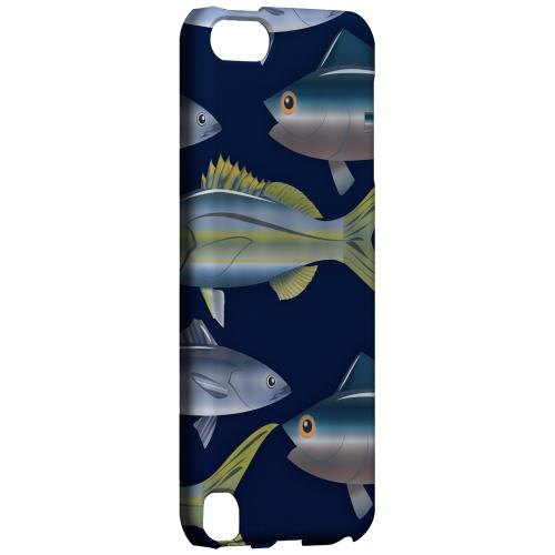 Geeks Designer Line (GDL) Slim Hard Case for Apple iPod Touch 5 - Assorted Fish in the Sea