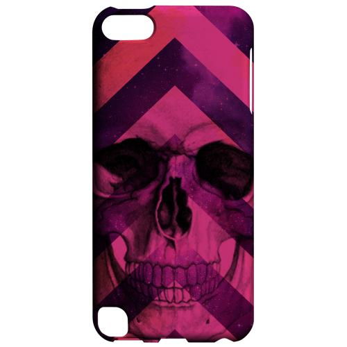 Geeks Designer Line (GDL) Slim Hard Case for Apple iPod Touch 5 - Pink Space Death