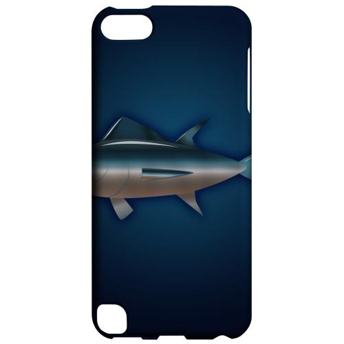 Geeks Designer Line (GDL) Slim Hard Case for Apple iPod Touch 5 - Bluefin Tuna