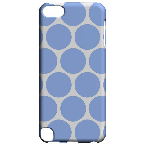 Geeks Designer Line (GDL) Slim Hard Case for Apple iPod Touch 5 - Big & Sky Blue
