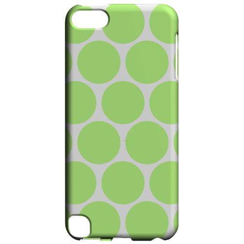 Geeks Designer Line (GDL) Slim Hard Case for Apple iPod Touch 5 - Big & Lime Green