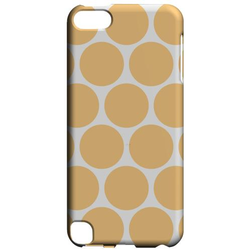 Geeks Designer Line (GDL) Slim Hard Case for Apple iPod Touch 5 - Big & Orange