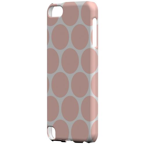 Geeks Designer Line (GDL) Slim Hard Case for Apple iPod Touch 5 - Big & Baby Pink
