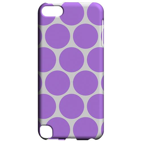 Geeks Designer Line (GDL) Slim Hard Case for Apple iPod Touch 5 - Big & Purple