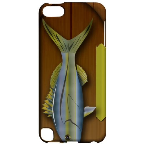 Geeks Designer Line (GDL) Slim Hard Case for Apple iPod Touch 5 - Fish Trophy