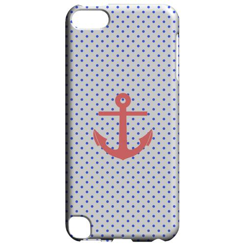 Geeks Designer Line (GDL) Slim Hard Case for Apple iPod Touch 5 - Anchor
