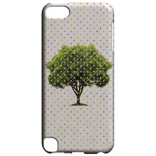 Geeks Designer Line (GDL) Slim Hard Case for Apple iPod Touch 5 - Tree